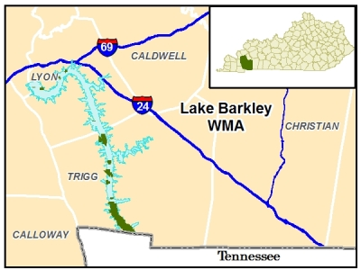 Kentucky Department Of Fish And Wildlife Resources - Tva hunting maps