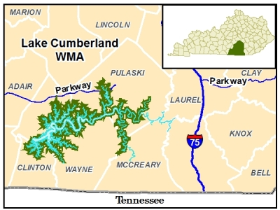 lake cumberland ky map Public Lands Search Kdfwr lake cumberland ky map