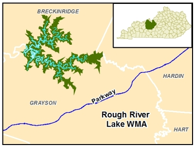rough river lake map Public Lands Search Kdfwr rough river lake map