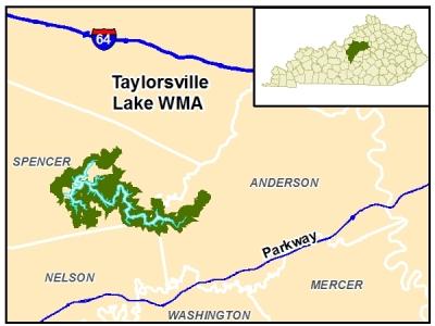 taylorsville lake wma map Public Lands Search Kdfwr taylorsville lake wma map